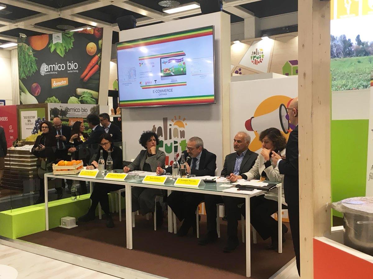 Evento di chiusura progetto Social Farming 2.0 - Fruit Logistica 2019 di Berlino