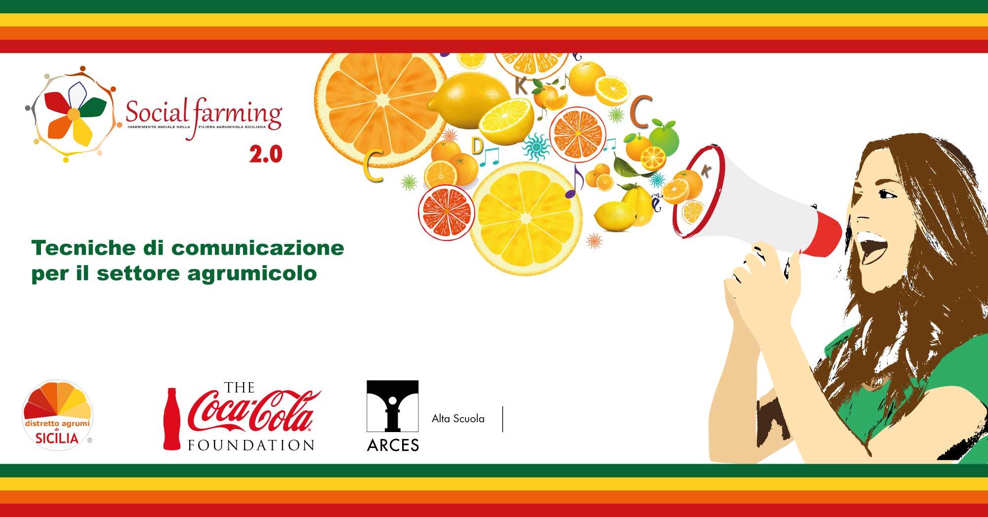 Tecniche di comunicazione nel settore agrumicolo - Corso a Catania SICILIA