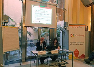 """Seminario dal titolo """"Business ethcis e Codici di Comportamento"""" a Palermo previsto dal progetto Social Farming"""